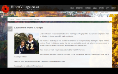 Jodi & Tessa Feature in Hilton Village, 17 August 2016