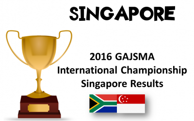 2016 GAJSMA International Championship, 2 October 2016