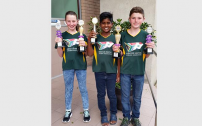 Abagility Maths Club students, Daniele, Duran and Dylan feature in the Highway Mail, 21 October 2016