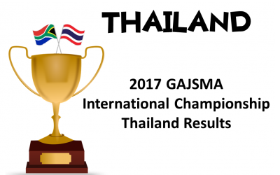 2017 GAJSMA International Championship in Thailand, 1 October 2017