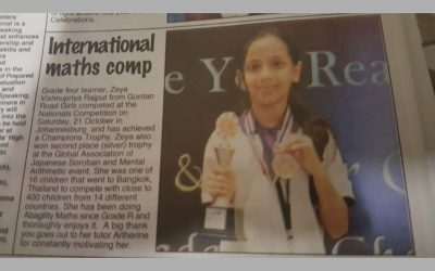 Zeya features in the papers