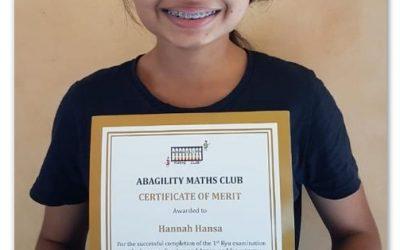 Hannah Completes 1st Kyu
