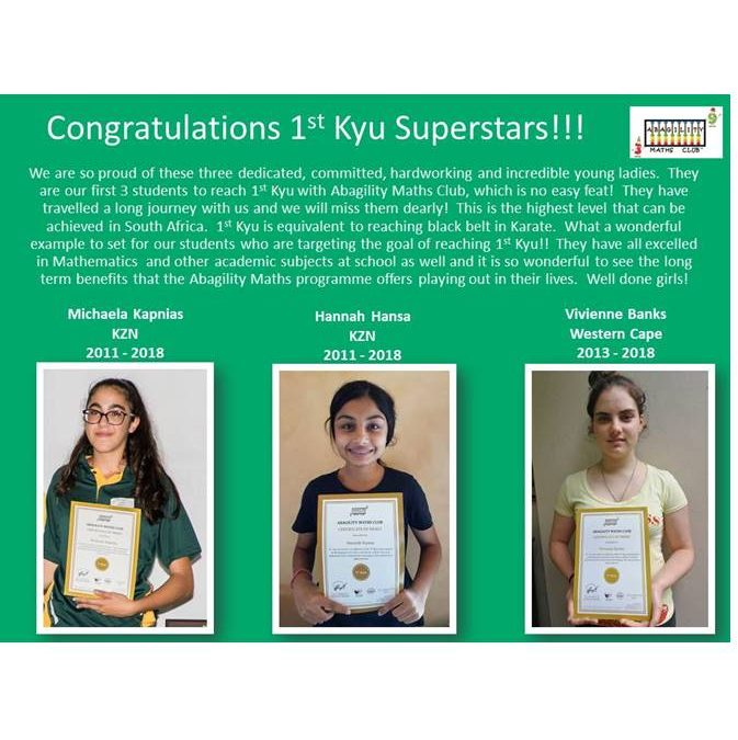 1st Kyu Superstars