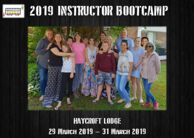 2019 Instructor Bootcamp Website