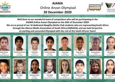 AIAMA Participants