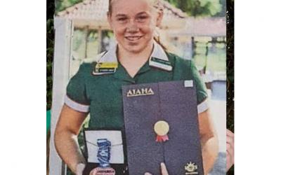Hannah shines at Abacus Olympiad